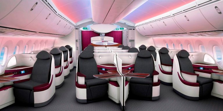 Review of American Airlines Business Class to London 4